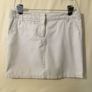 Gap twill skirt
